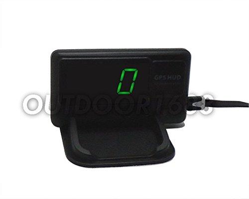Universal Gps Speedometer Hud Mph And Km H Plug Amp Play