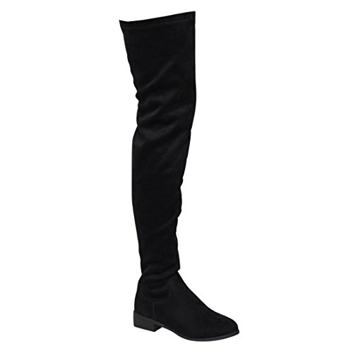 Black thigh high boots size 10 - Trenters.com