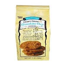 - Trader Joe's Crispy Crunchy Chocolate Chip Cookies 7 OZ (pack of 1)
