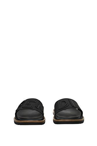 Fendi Flip-flops En Klompen Mannen - Pvc (7x1148ia6) Eu Zwart
