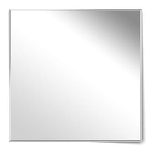 Homestyle - Espejo de pared sin marco (80 x 80 cm)