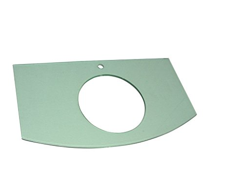 Luxo Marbre VECBH 3722-1-CL Tempered Glass Plate for Coun...