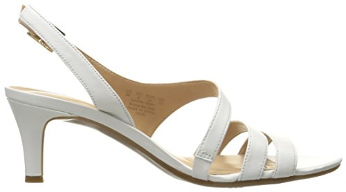 Naturalizer Taimi vestido sandalias de la mujer Blanco