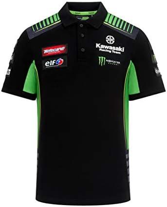 Kawasaki Racing Team Polo - Réplica - Negro - S: Amazon.es: Ropa y accesorios