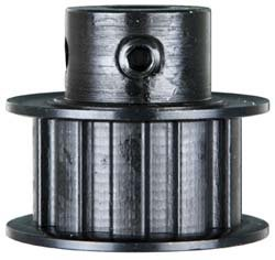 """Browning 14LF100X1/2 Gearbelt Pulley for L075 Belts, 14 Teeth, 3/8"""" Pitch, 1/2"""" Finished Bore, 1"""" Wide"""