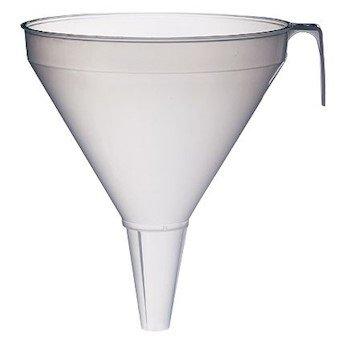 Large Industrial-Size Polypropylene Funnel, 2 L