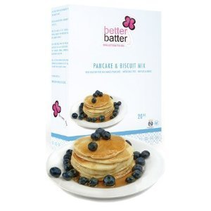 Better Batter Pancake and Biscuit Mix Gluten Free -- 20 oz by Better Batter