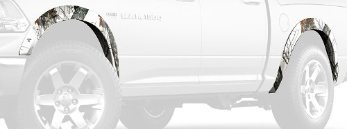 Camo Fender Flares - Mossy Oak Graphics 10008-FF-WR Winter Camouflage Fender Flare Kit