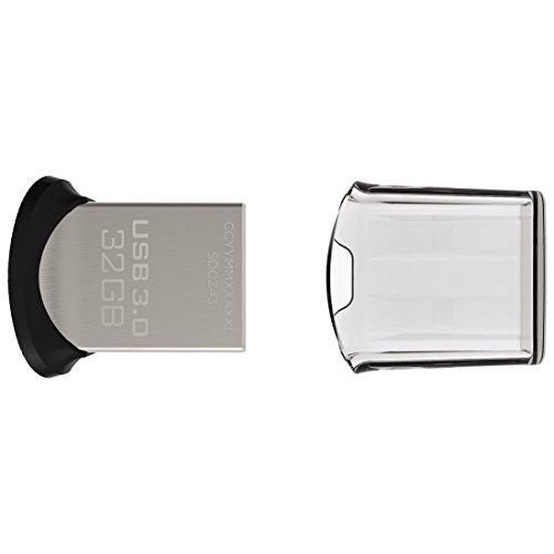 619659115456 - SanDisk Ultra Fit 32GB USB 3.0 Flash Drive (SDCZ43-032G-G46) carousel main 2