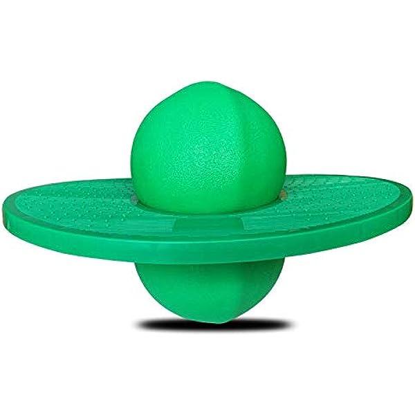 anne210 Pogo Jumper Pogo Stick F/ür Kinder Mit Griff Balance Ball Hopper Ball Balance Board Bounce Space Ball Spielzeug Mit Griffen Home Indoor Games Fitness Body Training
