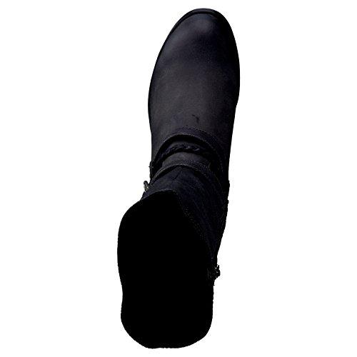 s.Oliver Damenschuhe 5-5-25340-27 Damen Stiefel, Boots Black Comb