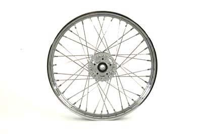 V-Twin 52-2035 - 19'' Replica Front Spoke Wheel by V-Twin (Image #1)