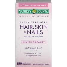Nature's Bounty Optimal Solutions Hair, Skin & Nails Soft...