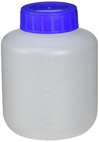 Eppendorf 5820708000 Polypropylene Wide-Mouth Autoclavable Bottle, 750mL Capacity (Pack of 2)