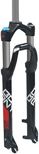 """GXFWJD 26インチバイクファットフォーク 自転車用エアサスペンション 雪 マウンテンバイクフォーク トラベル100mm 4.0""""タイヤ用"""