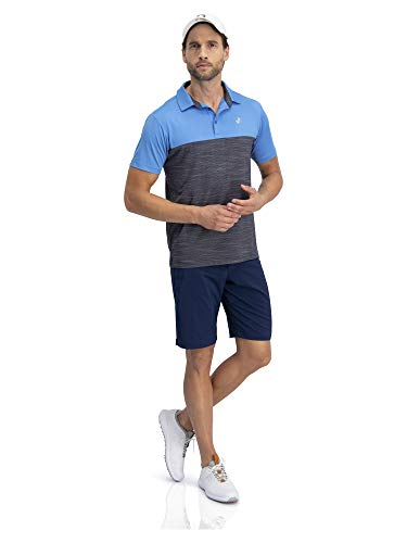 lf Shirts for Men - Moisture Wicking Short-Sleeve Polo Shirt ()
