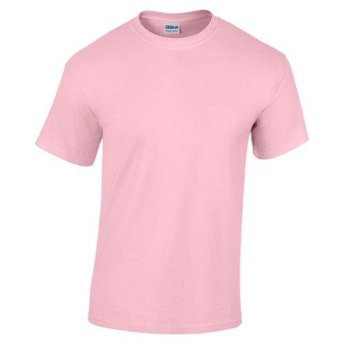 Gildan Childrens Unisex Heavy Cotton T-Shirt (L) (Light Pink) - Heavy Cotton Unisex T-shirts