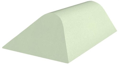 Uncoated Body/Torso Patient Positioning Sponge, Angular Bolster, 22-1/2'' x 14'' x 7-1/4'' by Colortrieve (Image #1)