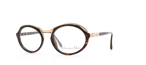 Christian Dior 2623 10 Black and Red Authentic Women Vintage Eyeglasses - Frames Dior 2014 Glasses