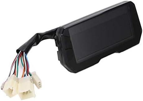 Tiamu Applicabile Un 2,4 Cilindri Strumento 6 Ingranaggi Moto Universale LCD Tachimetro Digitale Contachilometri Contachilometri Contachilometri Moto 12000 Giri//Min