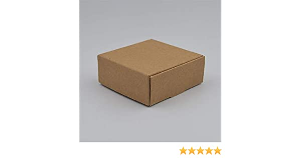 Amazon.com: XLPD 20PCS/Lot Natural Kraft Paper Box Easter Gift Box Wedding Favors Candy Box Cajas De Carton Packages Box for Soap Jewelry Caixa Kraft Paper ...