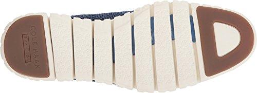 Cole Haan Men's Zerogrand Stitchlite Oxford, Riverside/Marine Blue/Ivory, 10 Medium US