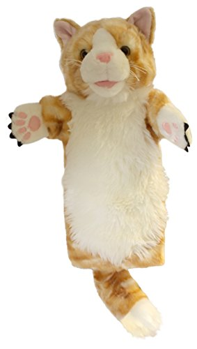 The Puppet Company Long-Sleeves Ginger Cat Hand Puppet