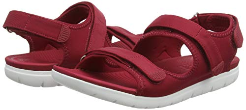 Red Rojo Strap Fitflop Back Abierta Sandals con 639 Sandalias Royal Mujer Punta Neoflex para vvwApqE7