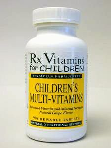 RX Vitamins - Childrens Multi-Vitamins - 90 Chewables [Health and Beauty]