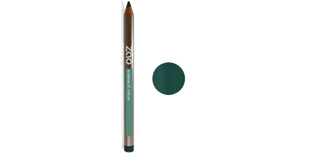 Zao Organic Makeup Pencil Eyeliner Dark Green