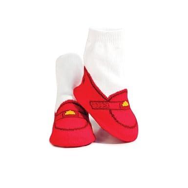 Trumpette Baby-boys Newborn Valentine Penny Loafer Socks