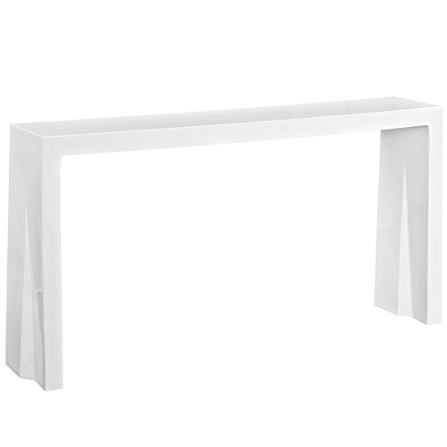 Modway Wash Console Table in White