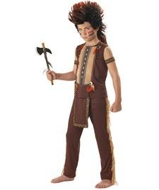 Indian Warrior Child Costume By California Costumes - (Top 10 Halloween Face Paint)