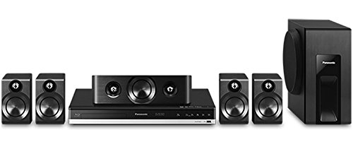 Panasonic SC-BTT405 5.1-Ch 3D Smart Blu-ray Home Theater System, Receiver, Front/Rear/Center Speakers, Subwoofer, Remote Control, Batteries, Antenna Top Price
