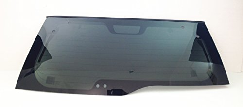Rear Heated Window - TYG Fits 2002-2006 Honda CR-V 4 Door SUV Rear Back Window Glass Heated W/ UM1511 on Window