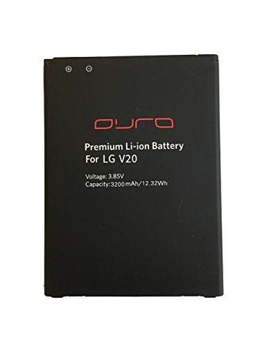 Premium Battery Ion Li (LG V20 Premium Li-ion Battery by DURA Innovation)