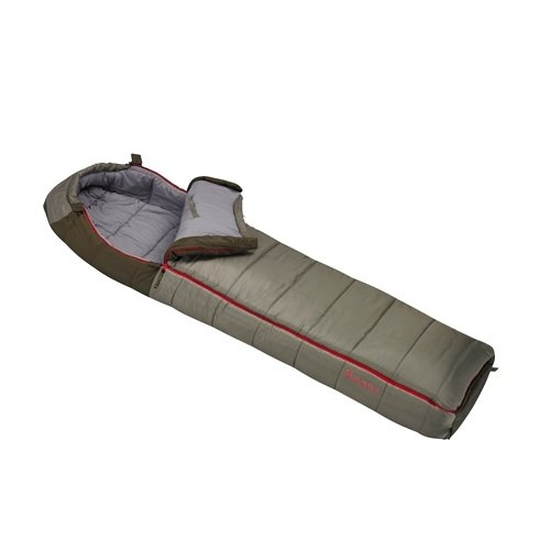 Slumberjack Borderland -20 Dual Zipper Hooded Rectangular Sleeping Bag