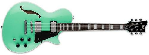ESP LTD X-Tone PS-1 Semi-Hollowbody Electric Guitar (Sea Foam Green) -