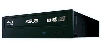 Asus Internal Blu-Ray Combo (12x BD-R (DL), 16x DVD+/-R, BDXL - 90DD0230-B20010 - Black by ASUS