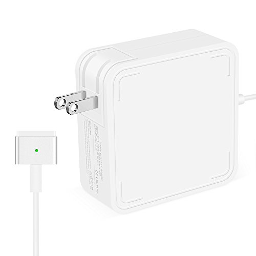 Airsspu Macbook Pro Charger,MacBook Air Charger Replacement 60W Magsafe 2 Magnetic T-Tip Power Adapter Charger for Apple Mac Book Pro 13 inch / 15 inch / 17 inch--After Late 2012