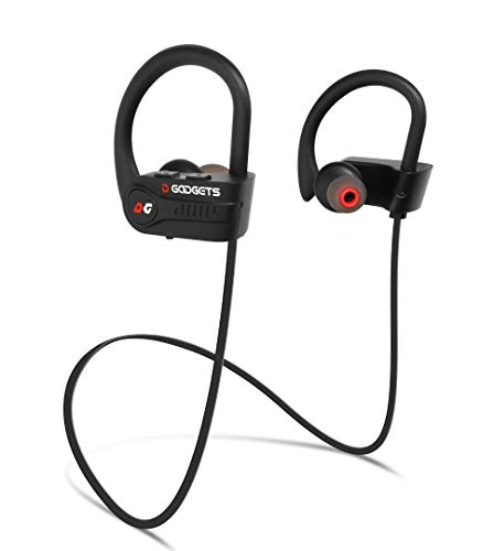 Bluetooth Headphones - Best 2019 Wireless Headset for Running or Gym Workout / IPX7 Waterproof/Sweatproof/CVC 6.0 Noise Canceling/Richer Bass/HiFi Stereo/in-Ear Earphones with Mic