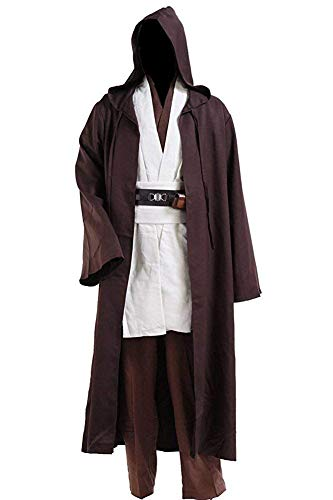 Cosdaddy® Mens Cosplay Costume Tunic Robe Full Set (XXXL-men) -