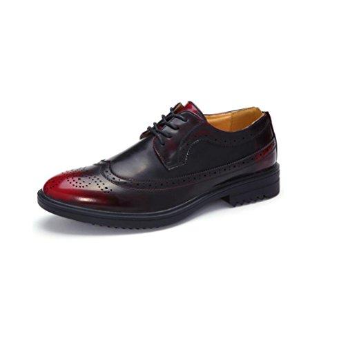 zmlsc Chaussures Eté Sports Rond Couleur Red Hiver Pointu Toile Business Ruban Souple Occasionnels Printemps Hommes Automne rxqwUr1
