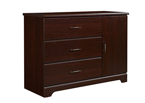 Buy Cheap Storkcraft Brookside 3 Drawer Combo Dresser, Espresso