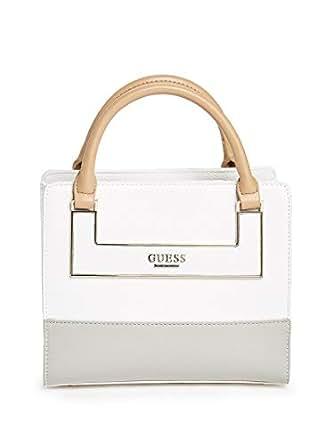 Guess Women's Violeta Mini Box Satchel Bag - Grey