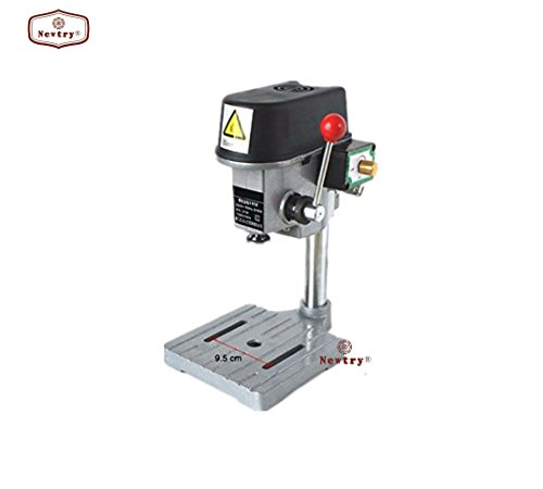 220V 340W Mini Table Electric Press Rotary Pillar Drill Drilling Press Bench Machine by Newtry