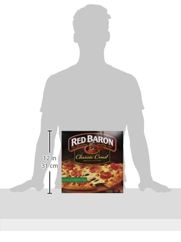 Red Baron, Classic Sausage & Pepperoni Pizza, 21.9 oz (Frozen): Amazon.com: Grocery & Gourmet Food