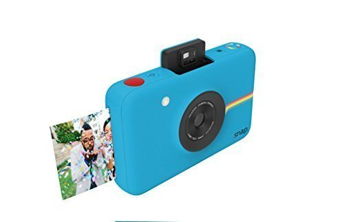 Polaroid Snap Instant Digital Camera (Blue) with ZINK Zero Ink Printing Technology