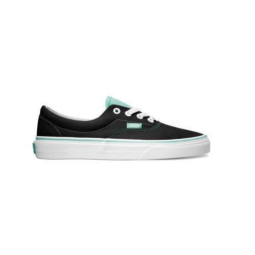 Vans Unisex Era 2 Tone Skate Sneakers-blackcockatoo (2 tone) black/cockatoo