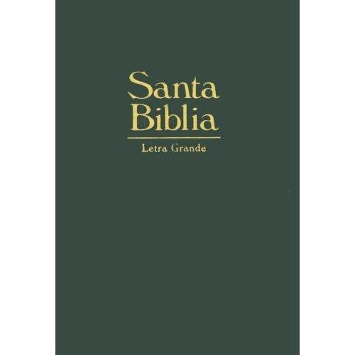 La Santa Biblia-RV 1960-Large Print (Spanish Edition) (Biblia Rv 1960 Letra Grande compare prices)